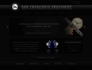 sanfranciscoprovident.com screenshot