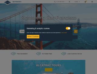 sanfranciscosightseeing.com screenshot