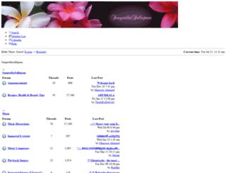 sangeethasallapam.com screenshot