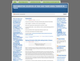 sanghparivar.wordpress.com screenshot