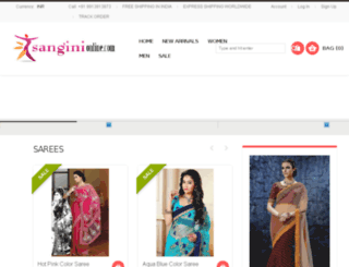 sanginionline.com screenshot
