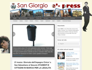 sangiorgioepress.it screenshot