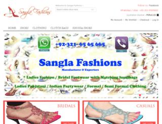 sanglafashions.com screenshot