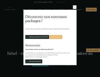 sanglier-des-ardennes.be screenshot