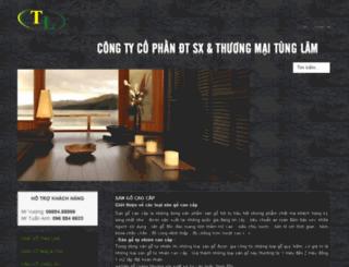 sangotunglam.com screenshot