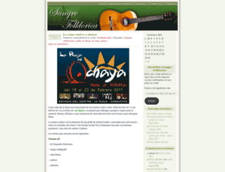 sangrefolklorica.wordpress.com screenshot