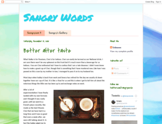 sangrywords.blogspot.ae screenshot