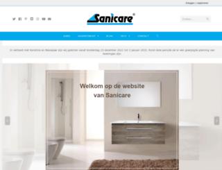 sanicare.nl screenshot