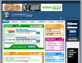 sanidha.lottery.com screenshot