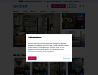 sanidirect.nl screenshot