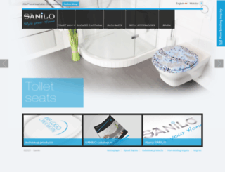 sanilo.com screenshot