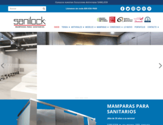 sanilock.com screenshot