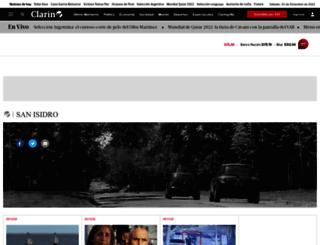 sanisidro.clarin.com screenshot