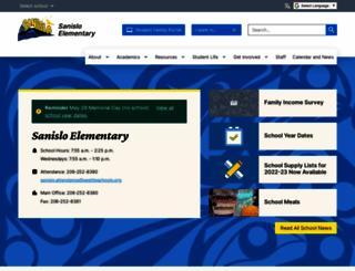 sanisloes.seattleschools.org screenshot