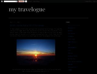 sanistravelogue.blogspot.com screenshot
