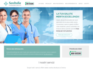 sanitalia.it screenshot