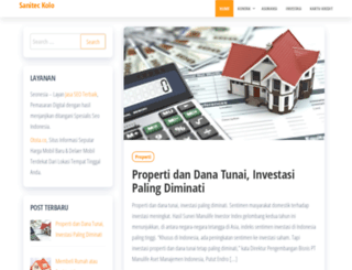 sanitec-kolo.com screenshot
