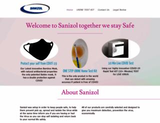 sanizol.com screenshot