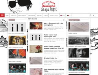 sanjaperic.com screenshot