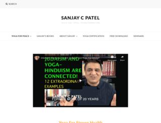 sanjaycpatel.com screenshot