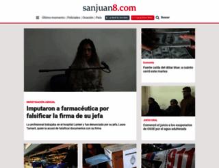 sanjuan8.com screenshot