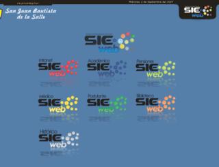 sanjuanbautista.sieweb.com.pe screenshot