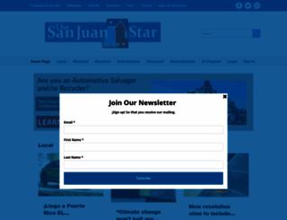 sanjuanweeklypr.com screenshot