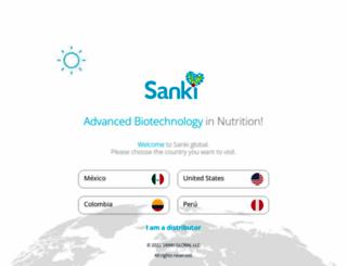sankiglobal.com screenshot