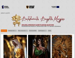 sanktuarium.boleslawiec.pl screenshot