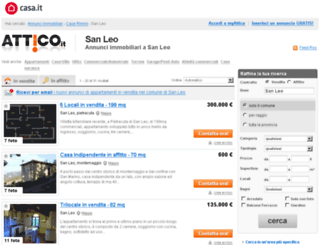 sanleo.attico.it screenshot