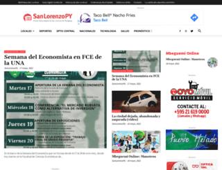 sanlorenzopy.com screenshot