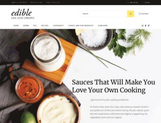 sanluisobispo.ediblefeast.com screenshot