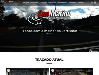 sanmarinokart.com.br screenshot