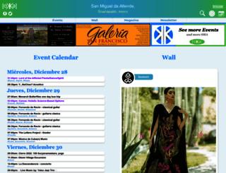 sanmigueldeallendeevents.com screenshot