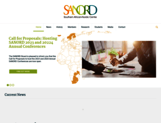 sanord.uwc.ac.za screenshot