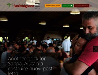 sanpatrignano.org screenshot
