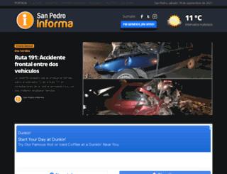 sanpedroinforma.com.ar screenshot