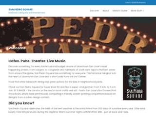 sanpedrosquare.com screenshot
