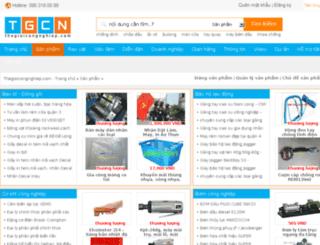 sanpham.thegioicongnghiep.com screenshot