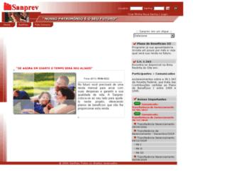 sanprev.com.br screenshot