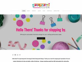 sanqunettidesign.com screenshot