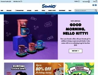 sanrio.com screenshot