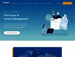 sansan.com screenshot