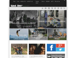 sansdeconner.net screenshot