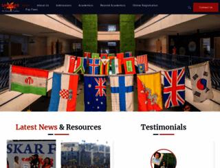 sanskarjaipur.com screenshot