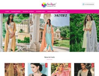 sanskrutisilkmills.com screenshot