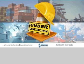 sansores.com screenshot