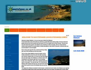 sanstefanos.co.uk screenshot