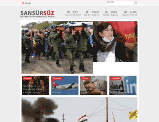sansursuz.com screenshot