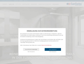 sanswiss.de screenshot